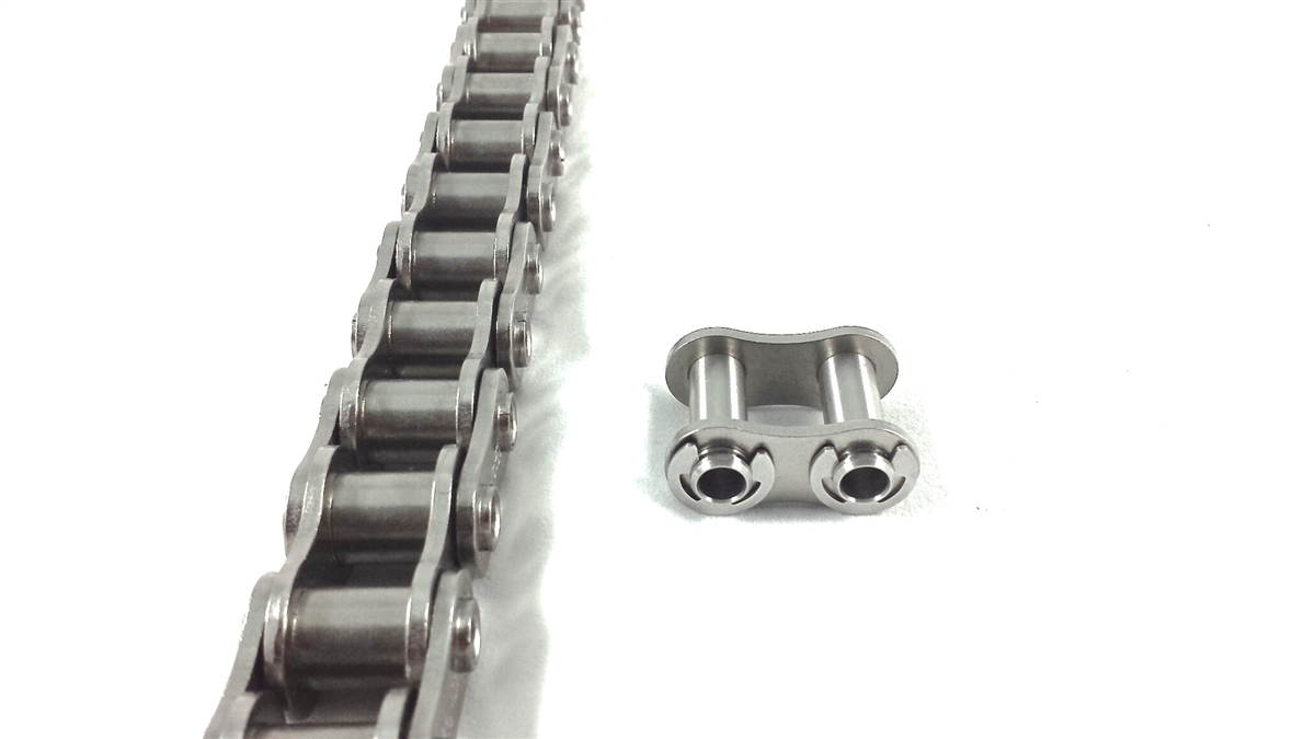 hollow plates and pins chains