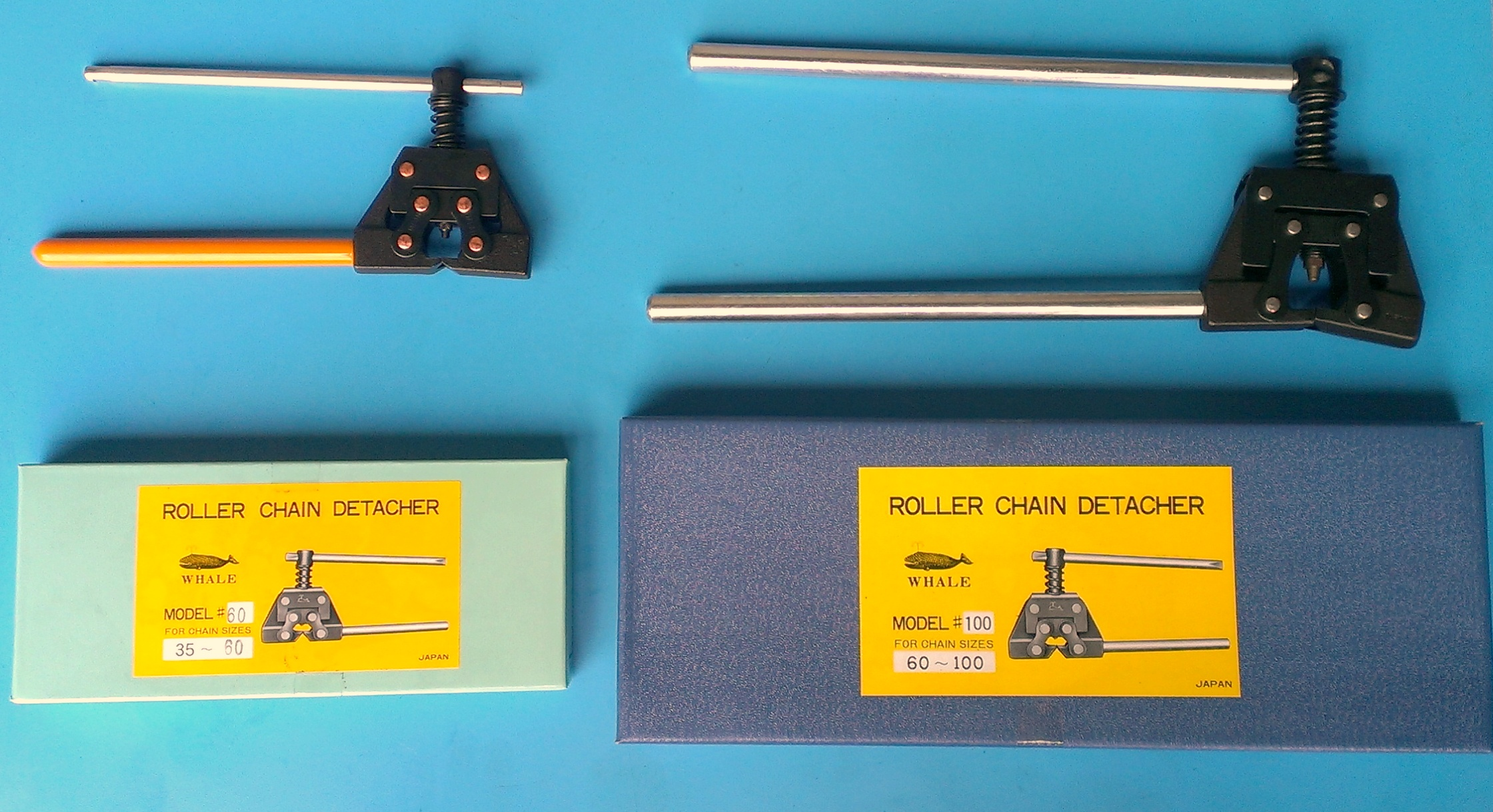 roller chains detacher