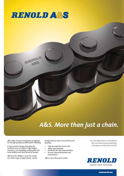 renold a&s chains